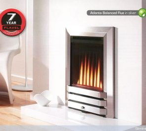 ATLANTA BALANCED FLUE in silver