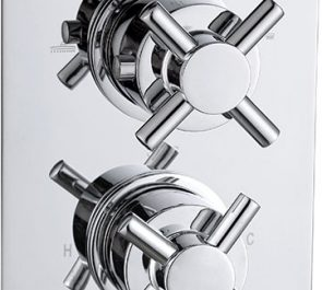 Adapti Cross Concealed Thermo Shower Valve