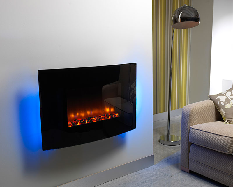 Wall Mounted Electric Fires Rainbow Bhk