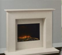 BETLEY in NACARADO solid marble £648. Price includes mantle, surround, back panel, hearth (available in ALL group B colours). Also available in group A colours in solid marble for £620. Also made in group C colours.