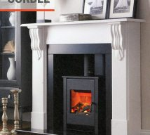 Corbel Electric Fire