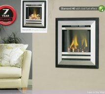 DIAMOND HE with coal fuel effect, available with pebble fuel effect