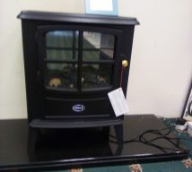 DIMPLEX BRAYFORD ELECTRIC STOVE WITH REMOTE NOW £110 EXDISPLAY