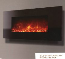 ELECTRIFLAME XD PIANO BLACK £468 incl VAT