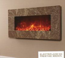 ELECTRIFLAME XD PRESTIGE BROWN £660 incl VAT