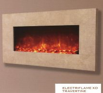 ELECTRIFLAME XD TRAVERTINE £709 incl VAT