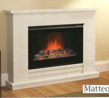ELGIN & HALL MATTEO 48 inch Electric Fireplace