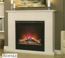 ELGIN & HALL ROESIA 51 inch Electric Fireplace