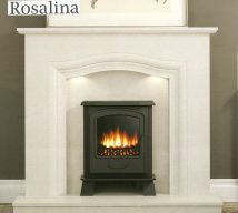ELGIN & HALL ROSALINA 50 inch Marble Surround