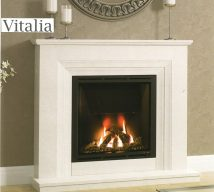 ELGIN & HALL VITALIA 48 or 52 inch Marble Surround