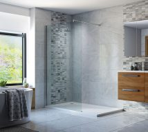 Impressions Wetroom Panel and Support Bar