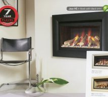 JAZZ in black with black trim. Available in black back with silver trim,cream back with shampagne trim