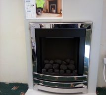 MARBURY GAS FIRE FROM KOHLANGAZ NOW £175 MANUAL CONTROL EXDISPLAY