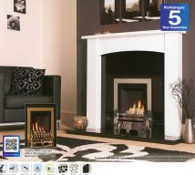 THRETFORD Gas Fire £250 can be customised an no extra cost with choice of frets and trims