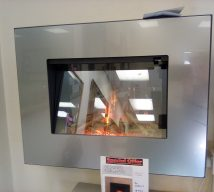 VERADA WALL MOUNTED ELECTRIC FIRE NOW £450 BY FLAMERITE EXDISPLAY