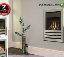 WINDSOR PLUS Available with coal and pebble fuel effect
