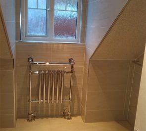 Fitted Heated Towel Rail