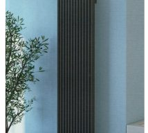 RAYON Vertical Radiator £208.00 in matt anthracite
