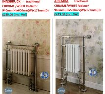 Traditional radiators INNSBRUCK and ARCADIA