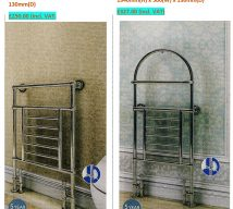 Traditional radiators SHERIDAN £250.00(incl VAT) and SIENNA £327.00(incl VAT)
